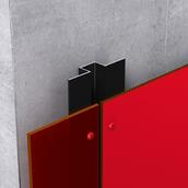 Exposed fastening system with Fundermax panels