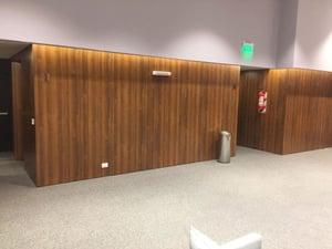 Examples of High-Traffic Spaces Where HPL Cladding Thrives - Esplendor Hotel Elevators