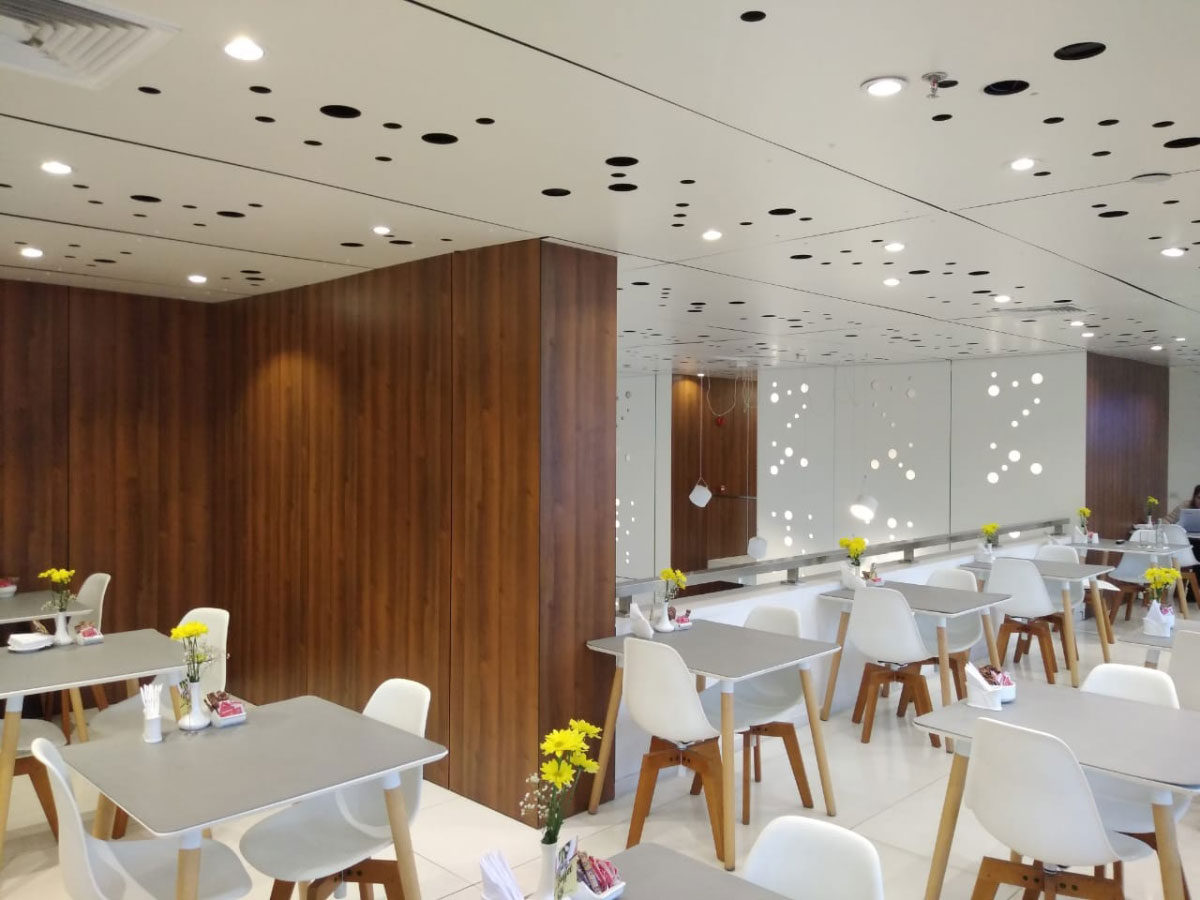 Examples of High-Traffic Spaces Where HPL Cladding Thrives - Esplendor Hotel