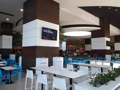 Benefits of Installing Interior HPL Cladding Panels - Food Court