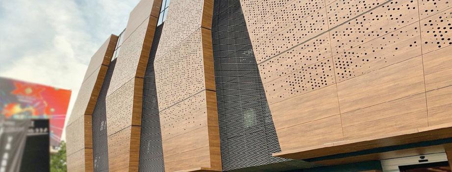 examples of exterior phenolic panels