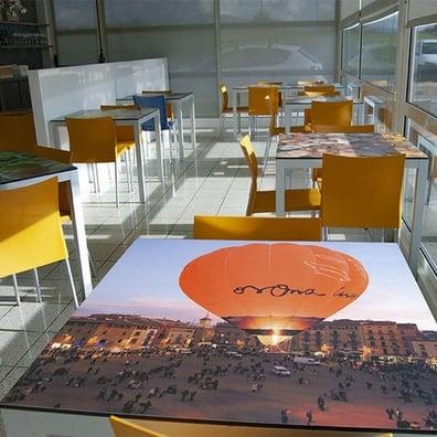 Benefits of Installing Interior HPL Cladding Panels - restaurant tables
